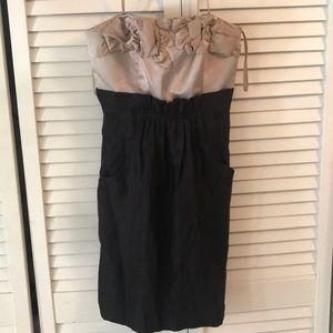 Strapless BCBG mid-thigh dress